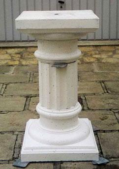 molds plaster column