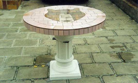 mould plaster column