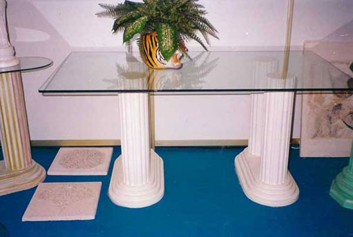 mould fluted column