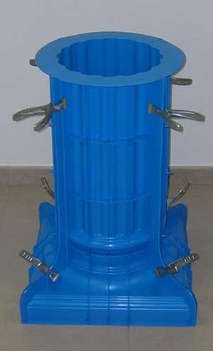 mold fluted column